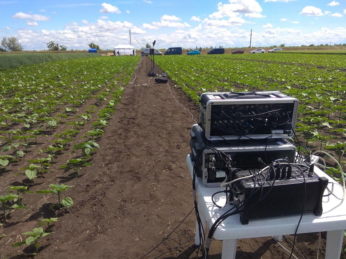 Оборудование для проведения онлайн трансляции с Дней поля, услуга или аренда. Киев, Украина. Компания Эквиптайм
