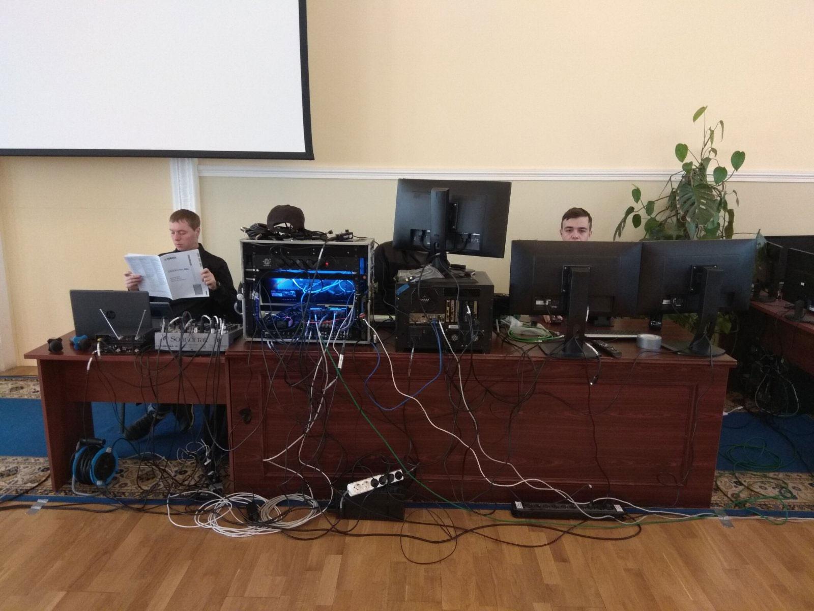 Оборудование для видеоконференций для Министерства регионального развития с использованием платформы ZOOM, услуга или аренда. Киев, Украина. Компания Эквиптайм