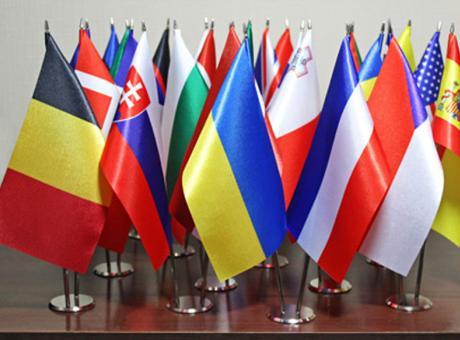 Аренда флагов и флагштоков Киев, Украина
