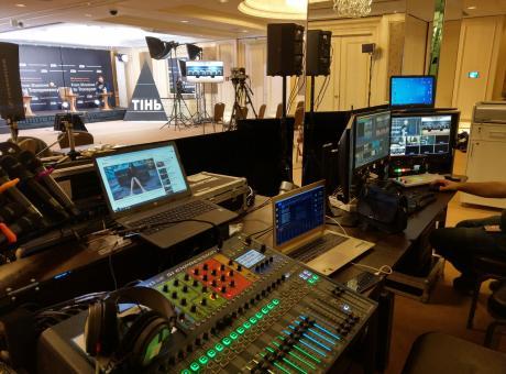 Комплексное сопровождение звуковым оборудованием мероприятия Киев, Украина