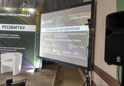 Аренда проекционных экранов Киев, Украина