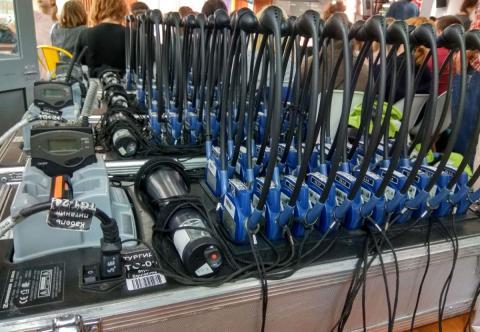 Радио Гид экскурсионные радиосистемы в аренду Киев, Украина